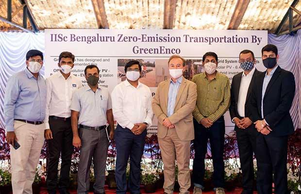 Vikram Solar Modules power IISc and GreenEnco's Zero-Emission EV Charging Station