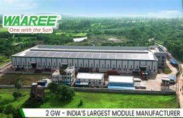 Waaree Supplies 2MW Solar Modules to F.Robin Polymer