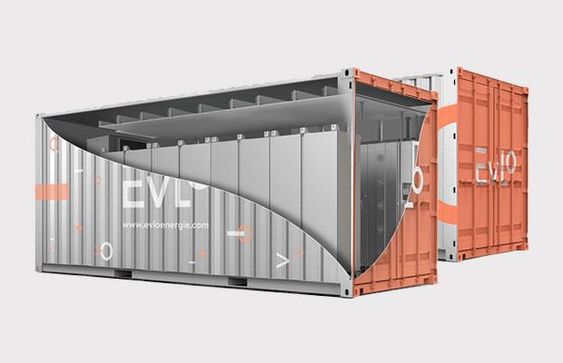 An EVLO energy storage system. (CNW Group/Hydro-Québec)