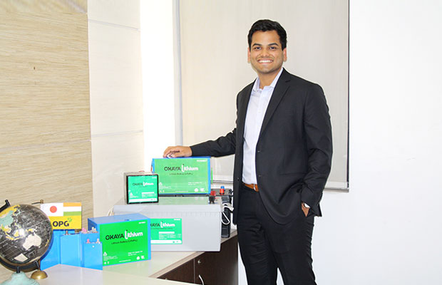 Anshul Gupta, Director, Okaya Power