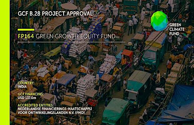 GCF FMO Investment in India