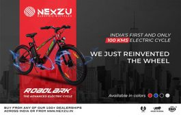 Nexzu Mobility Launches 'Roadlark' e-cycle With 100 Km Range