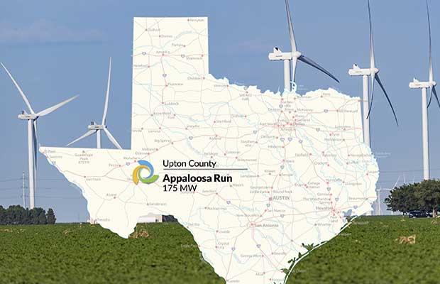 175 MW West Texas wind project