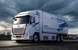Hyundai Upgrades its Hydrogen Fuel Cell Truck For Global Expansion