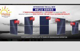Jakson Group Launches 21% Efficient Helia Series PV Module