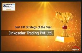 JinkoSolar Awarded the Best HR Strategy of the Year