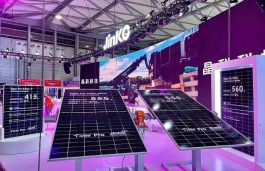JinkoSolar Showcases High Tech Panel Offerings At SNEC 2021