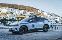 Volkswagen Delivers E-Cars to Greek Island of Astypalea