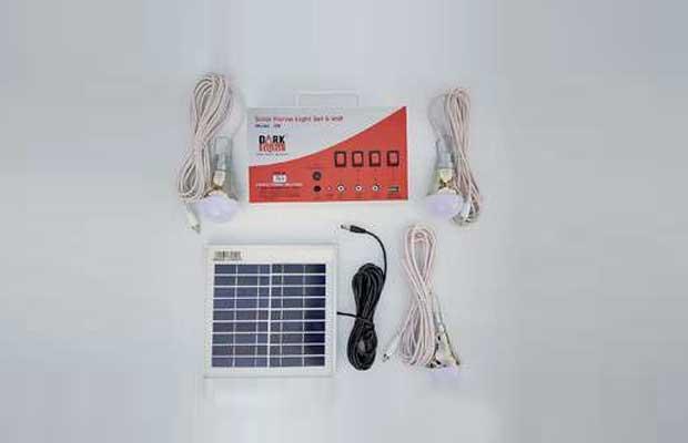 dark fight Vicco Solar Home Light