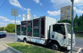 L-Charge's 1st Mobile EV ChargerStarts Patrolling Moscow's Streets