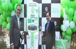 MG Motor, Fortum Set up a 50KW Public EV Charger in Pune