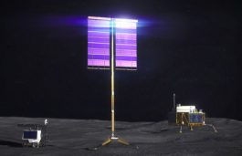 NASA Solar Array Technology Now Powering Communications Satellites