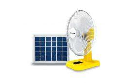 Sun King Table Solar Fan Set (20 W)