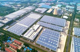 Sungrow Supplies Inverters to 120 MW C&I Rooftop PV Plant in China