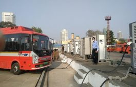 Tata AutoComp delivers 64 DC Fast Chargers for Electric Bus Charging