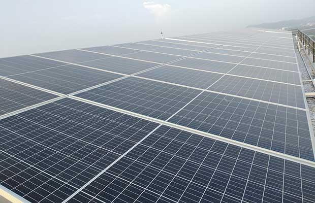 Oorjan Cleantech solar project