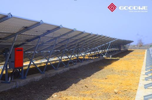 Solar Plant with GoodWe inverter
