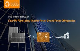 PV Plant Safety. Inverter Power On and Power Off Operation