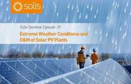 Extreme Events & O&M of Solar PV Plants