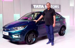 Tata Motors Launches Tigor EV Sedan Starting at Rs 11.99 L