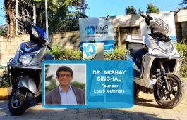 """""""We Are Very Good At Innovating New Kinds Of Products And Technologies"""", Akshay Singhal, Log 9 Materials"""