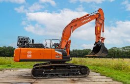 Belgian Companies Unveil 'World's 1st H2-powered Excavator'