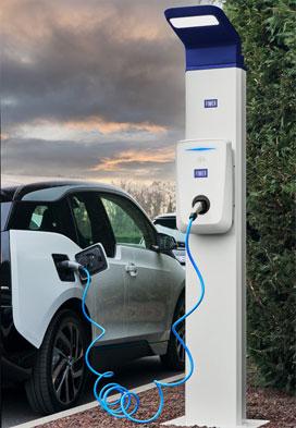 fimer ev charging station