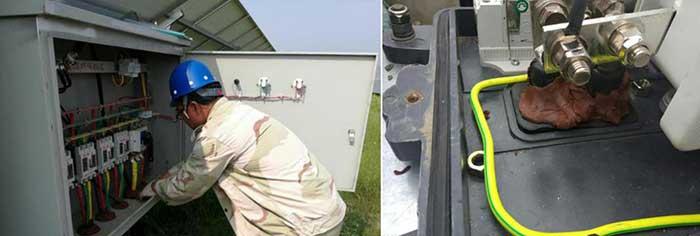 solar plant facilities