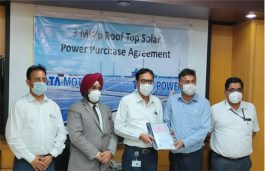 Tata Motors signs a PPA with TATA Power For 3 MWp Solar Rooftop At Its Pune plant