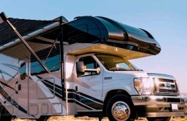 Xponent Power Introduces World's First Power Generating Solar Awning for the RV Industry
